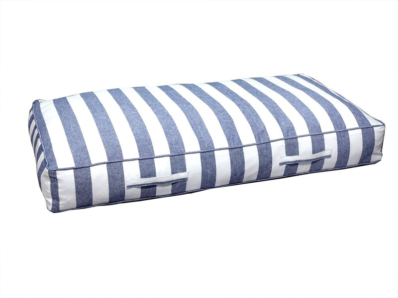 Cojin Pale Desenfundable Azul 120x60x13 Cm — Cojines para